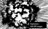 Explosions Image Pack by screentones