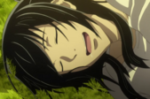 Akashi sleeping