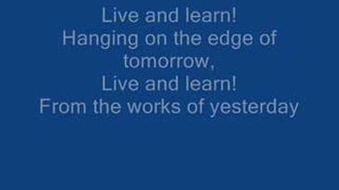 Crush 40 - Live And Learn Lyrics