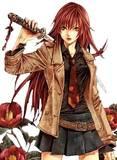 Th Sword anime girl