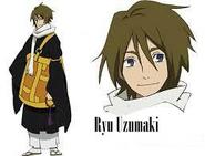 Ryu Uzumaki Cuerpo y Rostro