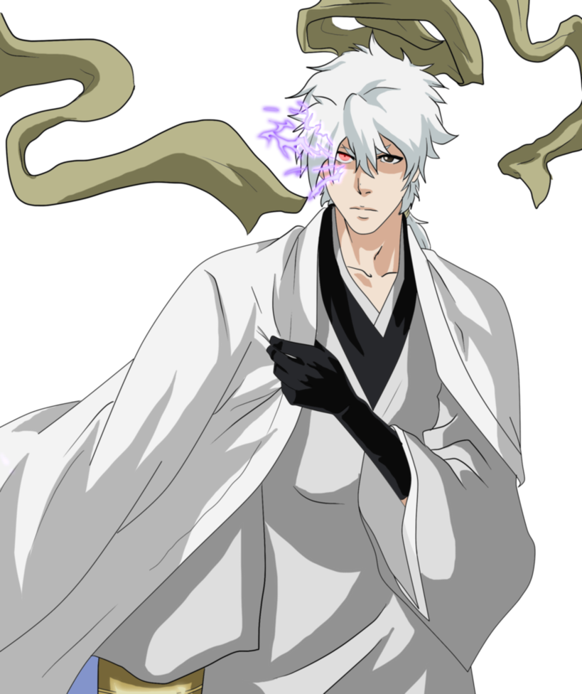 Oc Captains On Bleach Oc Characters: Kaito S Captain Appearance By Zanpakuto Leader