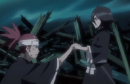 244Rukia and Renji emerge