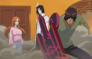 Orihime and Sado arrive