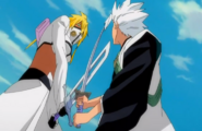 226Hitsugaya and Harribel clash
