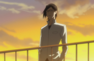 Uryu on top of the building