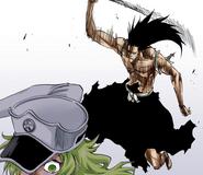 580Kenpachi attacks