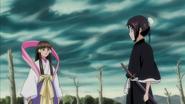 Momo comes to help Tobiume battle Kirikaze