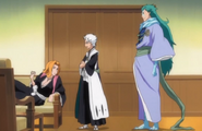 262Rangiku, Hitsugaya, and Hyorinmaru discuss