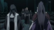 Ichigo approaches Byakuya and Senbonzakura