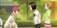 Karin and Yuzu come across Snakey again