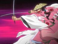 Shunsui Prepares for Shikai