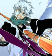 550Hitsugaya is shot