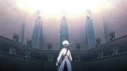 Hitsugaya confronted by central 46