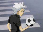 Hitsugaya soccer ball