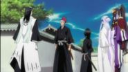 Renji arrives before the group