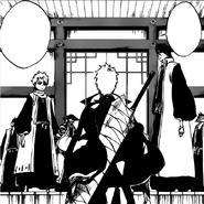 Ichigo greeted by Captains