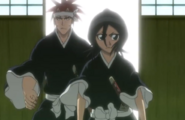 MONRukia and Renji emerge