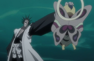 Zaraki grabs Ashisogi Jizo