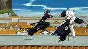 Hitsugaya Runs From Momo