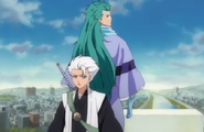 257Hitsugaya and Hyorinmaru sense