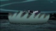 Kenpachi and Byakuya clash