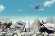 300Isshin, Urahara & Yoruichi vs. Aizen
