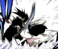 524Unohana and Kenpachi clash