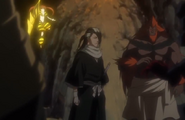 241Byakuya arrives at the cave