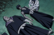 Uryu Heals The Shinigami