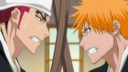 Renji and Ichigo Spar