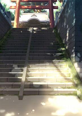 Yamada Manor stairs