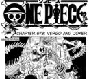 One Piece Chapter 673. Vergo and Joker