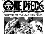 One Piece Chapter 671. Gasu Gasu no Mi