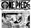 One Piece Chapter 670. Blizzard With a Chance of Slime