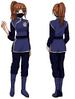 Tsukimisou uniform woman