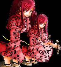Erza scarlet kimono by kamajikun-d8958je