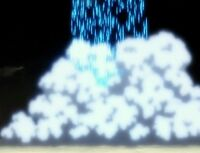 Licht-Regen