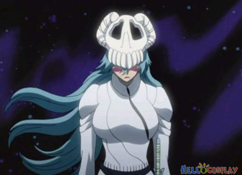 Mtxc Bleach Cosplay Prop No.3 Espada Neliel Tu Oderschvank Arrancar Mask  White