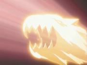 Energiestrahl Dragra Drachenkopfform