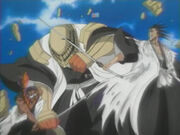 Kenpachi vs komomura