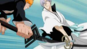 Ichigo Kurosaki vs. Gin Ichimaru