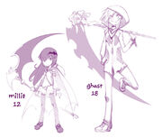 Millie and ghast by numa430-d7vdln6