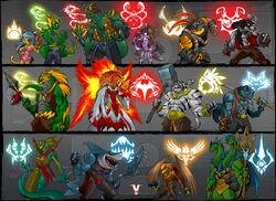 List of Bleedman Art-Exclusive Characters/S-T | Snafu Comics