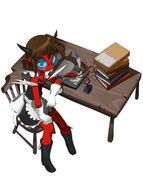 Jewel desk by numa430-daloy99