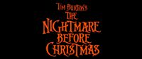 Nightmare Before Christmas Movie Logo