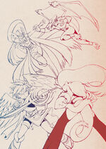 Angels and demons by bleedman-d5r3ofs
