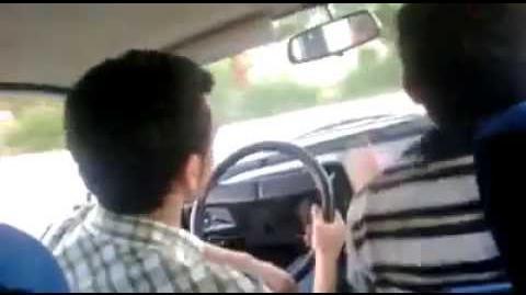 Acemi şoför fren yerine gaza basarsa (FRENE BAS LAN)-0