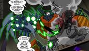 Demon reaper pumpkin