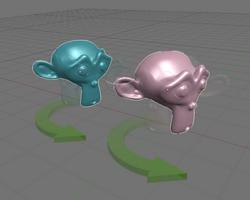 Pivot rotating individual centers